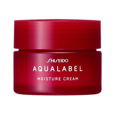 Kem dưỡng Shiseido Aqualabel Moisture Nhật Bản màu đỏ 30g