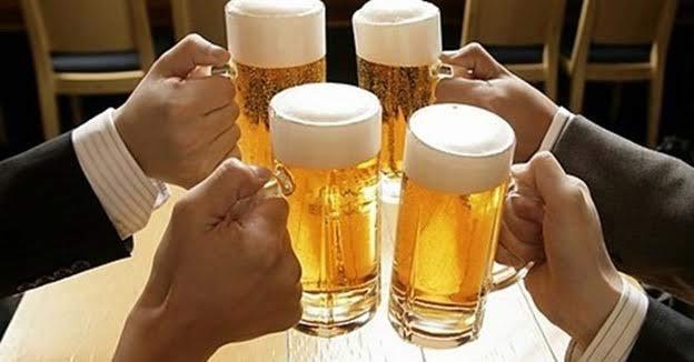 tác hại bia rượu với bệnh cao huyết áp