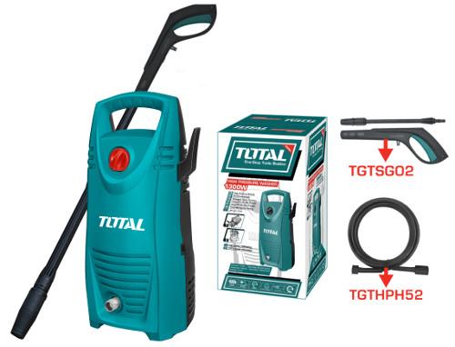 1300W Máy phun xịt rửa áp lực cao TOTAL TGT1131