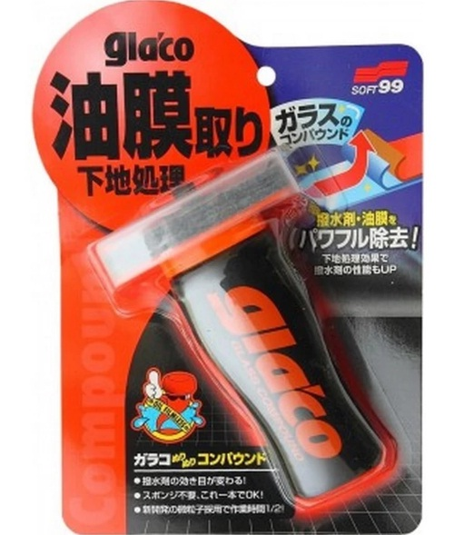 Dụng cụ vệ sinh kính xe Glaco Glass Compound SOFT99