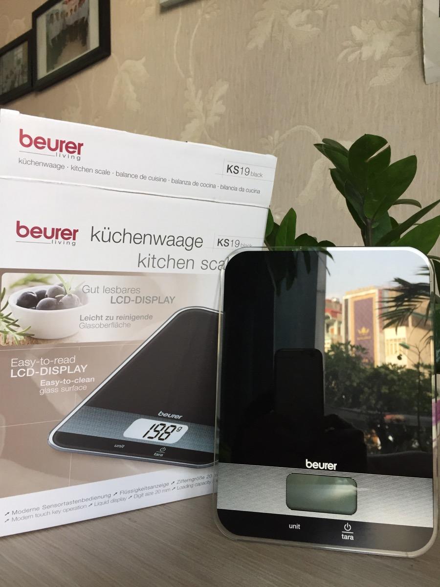 Cân nhà bếp điện tử BEURER KS19-Black