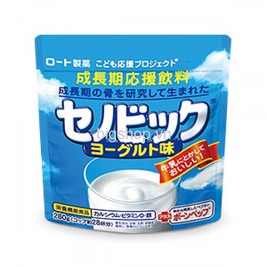 Sữa bột tăng trưởng chiều cao Rohto Senobikku Nhật Bản vị sữa chua