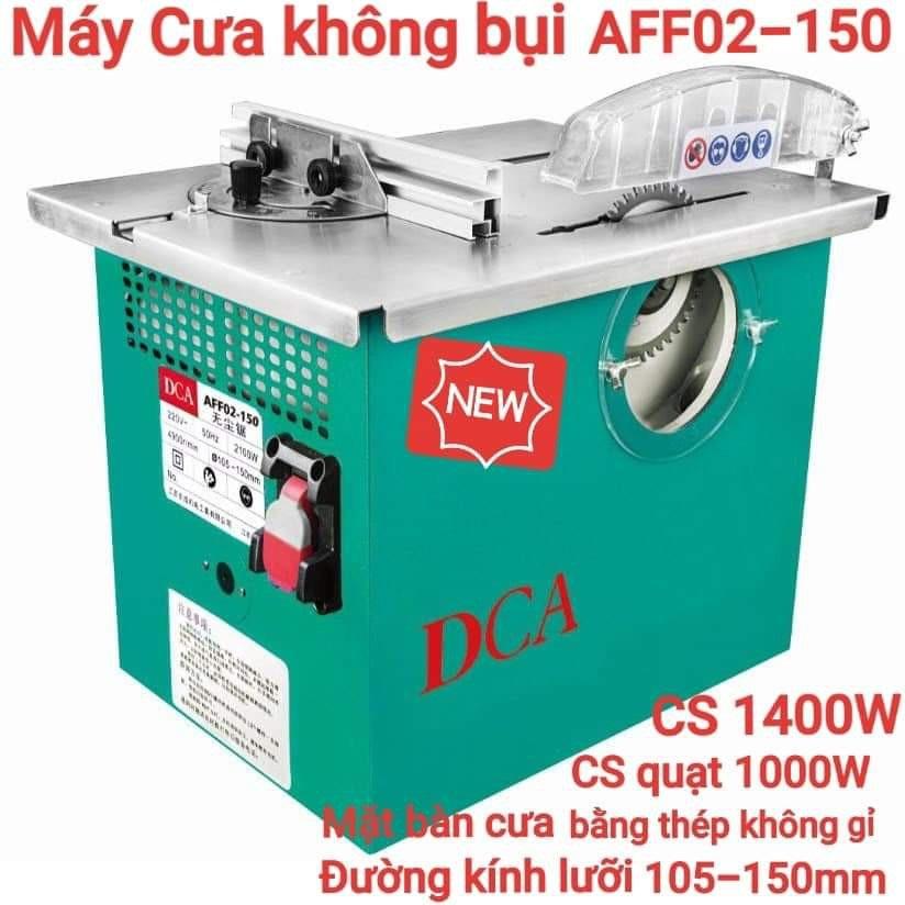 Máy cưa không bụi 1400W DCA AFF02-150